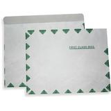 "ALL-STATE LEGAL Tyvek Flat Envelopes - 100/Box 10"" x 13"" , Tyvek Envelope, 18 lb., FIRST CLASS Border, Open Side, Pull & Close, 100/BX"