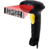 Adesso NuScan 7200TU 2D Barcode Scanner - Cable Connectivity - 200 scan/s - 1D, 2D - CCD
