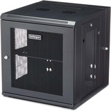 """StarTech.com 12U Wall Mount Server Rack Cabinet - 4-Post Adjustable Depth (2.4"""" to 19.7"""") Network Equipment Enclosure w/ Cable Management (RK1224WALHM) - Use this wall mount network cabinet to mount your server or networking equipment to the wall with a h"""