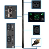 Tripp Lite PDUMV30HVNETLX 24-Outlet PDU - Switched - NEMA L6-30P - 4 x IEC 60320 C19, 20 x IEC 60320 C13 - 230 V AC - 5.80 kW - 0U - Vertical - Rack Mount - TAA Compliant