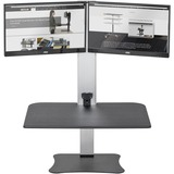 Victor High Rise Electric Dual Monitor Standing Desk Workstation
