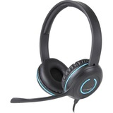 Cyber Acoustics AC-5002 Headset - Stereo - Mini-phone - Wired - 20 Hz - 20 kHz - Over-the-head - Binaural - Supra-aural