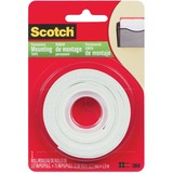 Scotch Mounting Tape - Double Coated, Adhesive, Permanent - 1 Pack