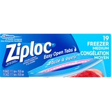Ziploc® Brand Gallon Freezer Bags - Medium Size - 3.79 L - 2.70 mil (69 Micron) Thickness - Multi - 19/Box - Food, Meat, Poultry, Seafood, Soup