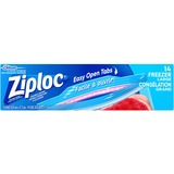 Ziploc® Brand Gallon Freezer Bags - Large Size - 3.79 L - 2.70 mil (69 Micron) Thickness - Multi - 14/Box - Food, Meat, Poultry, Soup, Seafood