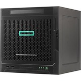 HPE ProLiant MicroServer Gen10 Ultra Micro Tower Server - 1 x Opteron X3216 - 8 GB RAM HDD SSD - Serial ATA/600 Controller - 1 Processor Support - 32 GB RAM Support - 0, 1, 10 RAID Levels - Gigabit Ethernet - 4 x LFF Bay(s) - No - 1 x 200 W