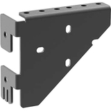 C2G Mounting Bracket for Cabinet - Black - TAA Compliant - Black