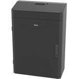 """C2G 4RU Vertical Wall-Mount Cabinet with Split Door - 36in Height TAA - For Router, LAN Switch, Patch Panel - 4U Rack Height31"""" (787.40 mm) Rack Depth - Wall Mountable - Black - Steel - 68.04 kg Static/Stationary Weight Capacity - TAA Compliant"""
