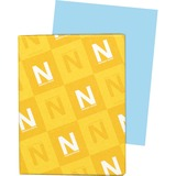 """Exact Index Paper - Letter - 8 1/2"""" x 11"""" - 90 lb Basis Weight - Smooth - 250 / Pack - Blue"""