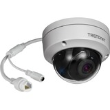 TRENDnet TV-IP327PI 2 Megapixel Network Camera - 98 ft (29870.40 mm) Night Vision - H.264+, Motion JPEG, H.264, H.265, H.265+ - 1920 x 1080 - CMOS - Wall Mount