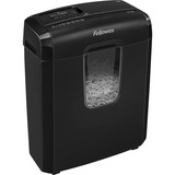 """Fellowes Powershred 6C Cross-Cut Shredder - Non-continuous Shredder - Cross Cut - 6 Per Pass - for shredding Staples, Paper, Credit Card - 0.2"""" x 1.4"""" Shred Size - P-4 - 3.05 m/min - 8.7"""" Throat - 3 Minute Run Time - 30 Minute Cool Down Time - 11.36 L Was"""
