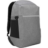 """Targus CityLite TSB938GL Carrying Case (Backpack) for 15.6"""" Notebook - Gray - Bump Resistant, Scratch Resistant - 300D Polyester - Shoulder Strap - 18.11"""" (460 mm) Height x 13.54"""" (344 mm) Width x 8.07"""" (205 mm) Depth"""