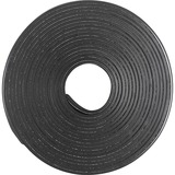 """Business Source 38506 Magnetic Tape Roll - 0.50"""" (12.7 mm) Width x 10 ft (3 m) Length - Adhesive Backing - Magnetic, Flexible - 1 Each - Black"""