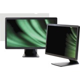 "Business Source Widescreen Frameless Privacy Filter Black - For 22"" Widescreen LCD Monitor - 16:10 - Black"