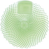 Genuine Joe Eclipse Anti-Splash Deodorizing Urinal Screen - Cucumber Melon - Anti-splash - 12 / Dozen - Green