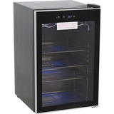 "Royal Sovereign Beverage Cooler - 127.43 L - Stainless Steel, Glass - 31.41"" (797.72 mm) x 20.41"" (518.32 mm) x 21.41"" (543.72 mm) - Black"