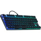 Cooler Master SK630 Keyboard - Cable Connectivity - USB 2.0 Type A Interface - PC - Mechanical Keyswitch - Gunmetal Black