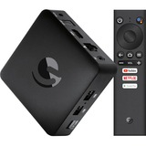 Ematic AGT419 Network Audio/Video Player - Black - microSD Supported - Netflix, Hulu, PBS Kids, YouTube - Internet Streaming - HDTV - 2160p - Ethernet - HDMI - USB - Android