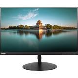 """Lenovo ThinkVision T24i-10 23.8"""" Full HD LED LCD Monitor - 16:9 - Black - 1920 x 1080 - 16.7 Million Colors - 250 cd/m² - 6 ms - HDMI - VGA - DisplayPort"""