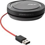 Plantronics Calisto 3200 Portable Personal Speakerphone with 360° Audio - Microphone - USB - Portable - Black