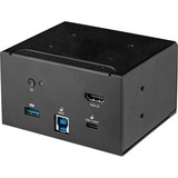 StarTech.com Laptop docking module for the conference table connectivity box lets you access boardroom or huddle space devices - Set up conference calls using applications such as Skype for Business - USB-C or USB-A laptop docking - USB-A charging port -