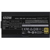 Cooler Master V MPY-6501-AFAAGV Power Supply - Internal - 120 V AC, 230 V AC Input - 650 W / 3.3 V DC, 5 V DC, 12 V DC, 12 V DC, 5 V DC - 1 +12V Rails - 1 Fan(s) - ATI CrossFire Supported - NVIDIA SLI Supported - 90% Efficiency
