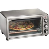 Hamilton Beach Stainless Steel 6 Slice Toaster Oven - 1440 W - Toast, Bake, Broil, Keep Warm - Stainless Steel