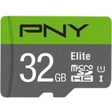 PNY Elite 32 GB Class 10/UHS-I (U1) microSDHC - 100 MB/s Read