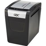 GBC PSX12-06 Paper Shredder - Cross Cut - 12 Per Pass - for shredding Paper - P-3 - 22.71 L Wastebin Capacity - Black