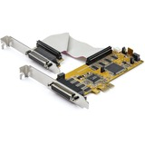 StarTech.com 8-Port PCI Express Serial Card with 16C1050 UART - PCI Express x1 - 8 x DB-9 Serial Via Cable - Plug-in Card - TAA Compliant