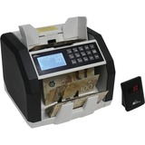 Royal Sovereign Professional Bill Counter - RBC-ED250-CA - 500 Bill Capacity - Counts 1500 bills/min - Black