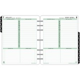 "Day-Timer 1PPD Folio Planner Refill - Daily - 1 Year - January 2020 till December 2020 - 8:00 AM to 8:00 PM - 1 Day Single Page Layout - 8 1/2"" x 11"" - Paper - Bilingual, To-do List, Notes Area, Printed, Phone Directory, Address Directory, Planning Sheet,"