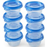 Glad Gladware Mini Round - Plastic Bowl - Food - Dishwasher Safe - Microwave Safe - Clear - 8 Piece(s) / Set
