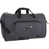 "Swissgear Getaway SW22312005 Carrying Case (Duffel) Luggage, Travel Essential - Dark Gray - Polyester - Shoulder Strap, Telescoping Handle - 10.50"" (266.70 mm) Height x 21"" (533.40 mm) Width x 3"" (76.20 mm) Depth"
