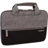 """Swissgear SWC0154195 Carrying Case (Sleeve) for 11"""" Tablet - Black, Gray - Dobby Polyester - Handle - 12"""" (304.80 mm) Height x 8.50"""" (215.90 mm) Width x 1"""" (25.40 mm) Depth"""