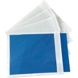 """Spicers Paper Envelope - Packing List - 5 1/2"""" Width x 4 1/2"""" Length - 1000 / Carton - Clear"""
