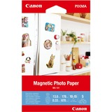 "Canon Photo Paper - 4"" x 6"" - 670 g/m² Grammage - Glossy - 5 Sheet"