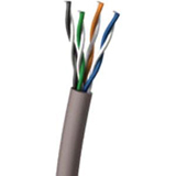 1000ft Cat5e Grey Shielded Pvc Solid Cable / Mfr. No.: 27432
