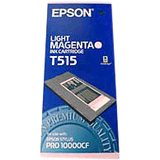 Epson Light Magenta Ink For Stylus Pro 10000 10600 / Mfr. no.: T515011