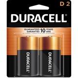 Duracell D Size Alkaline Battery - For Multipurpose - D - Alkaline - 2 / Pack