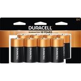Duracell Coppertop Alkaline D Battery - MN1300 - For Multipurpose - D - 1.5 V DC - Alkaline - 8 / Pack
