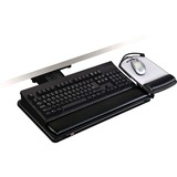 3M Adjustable Keyboard Tray with Adjustable Keyboard and Mouse Platform