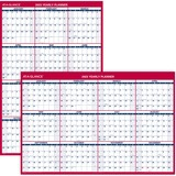 At-A-Glance Jumbo Erasable/Reversible Yearly Wall Planner
