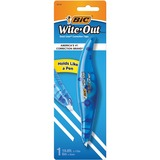 "Wite-Out Exact Liner Brand Correction Tape - 0.20"" (5.08 mm) Width x 19.8 ft Length - White Tape - Pen Style - Odorless - 1 Each - White"
