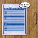 "C-Line Self-Adhesive Seal Shop Ticket Holders - 9"" x 12"" Sheet Size - Vinyl - Clear - 50 / Box"
