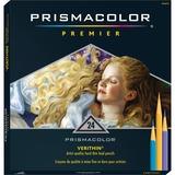 Prismacolor Verithin Colored Pencils - Assorted Lead - Assorted Barrel - 24 / Set