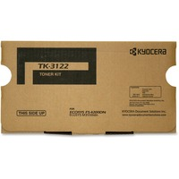 Kyocera Genuine TK-3122 Toner Cartridge + Waste Container for Kyocera ECOSYS M3550idn, FS-4200DN (21,000 Yield)