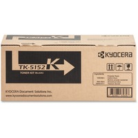 Kyocera TK-5152K Black Toner Cartridge for Kyocera ECOSYS M6035cidn, M6535cidn, P6035cdn  (Includes Waste Container) (12,000 Yield)