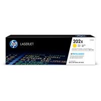 Hewlett Packard CF502X High Yield Yellow Toner Cartridge for HP Color LaserJet Pro MFP M281FDW, M254dw (HP 202X, CF502X) (2,500 Yield)