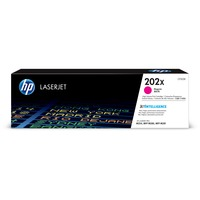 Hewlett Packard CF503X High Yield Magenta Toner Cartridge for HP Color LaserJet Pro MFP M281FDW, M254dw (HP 202X, CF503X) (2,500 Yield)